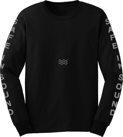 'Waves Version 2' Long Sleeve T-Shirt
