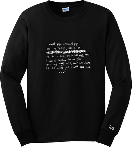 'I Would' Long Sleeve T-Shirt (Online Exclusive Colourway)