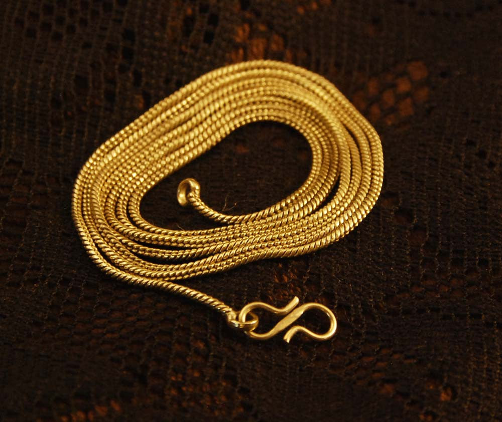 Brass Chain - Ekeko Crafts