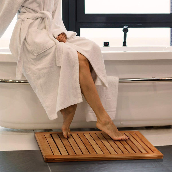 Bamboo Floor & Bath Mat