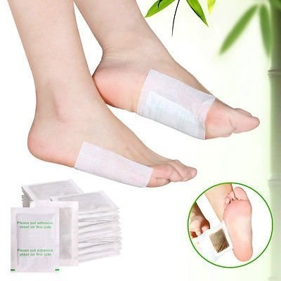 100pcs Bamboo Vinegar Essence Detox Foot Pad Patch