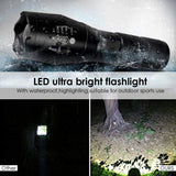 Portable LED Tactical Flashlight
