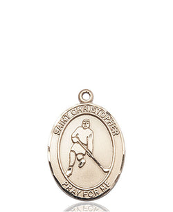 St. Christopher/Ice Hockey Medal - FN8155KT