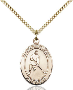 St. Christopher/Ice Hockey Medal - FN8155GF18GF