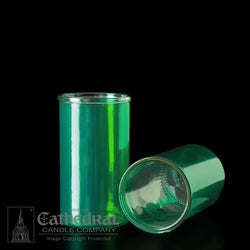 Reusable Glass Globes - Green (3-Day)