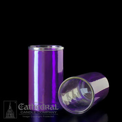 Reusable Glass Globes - Purple (3-Day)