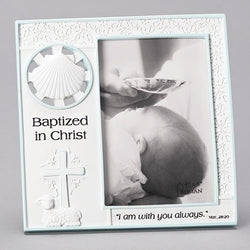 Baptized in Christ Boy Frame - LI44998