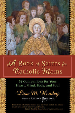 A Book of Saints for Catholic Moms EZ12739