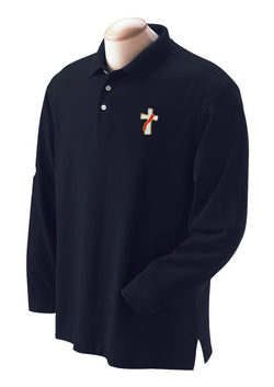 Deacon Polo Shirt Long Sleeve - SL2102