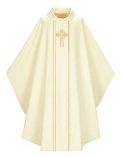 Gothic Chasuble - White - WN5195