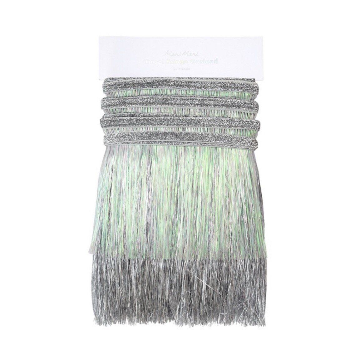FRINGE GARLAND - SILVER IRIDESCENT **coming soon**
