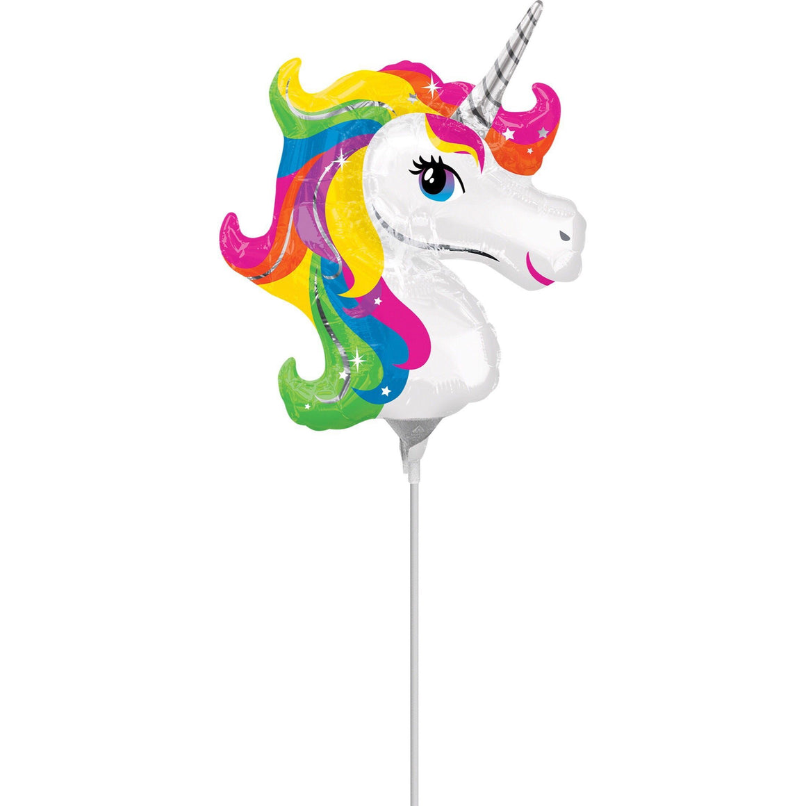 BALLOONS - UNICORN WAND BRITE (Pre-Filled - Pick-Up Only), Balloons, Anagram - Bon + Co. Party Studio