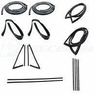 CWK 1111 71 1971 - 1972  C10 Pickup  - Complete Weatherstrip Kits - Chrome
