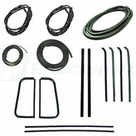 CWK 1110 55 1955 - 1959  GMC and Chev Pickup - Complete Weatherstrip Kits  No Trim Groove