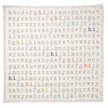 Quilted Blanket - Hi Alphabet