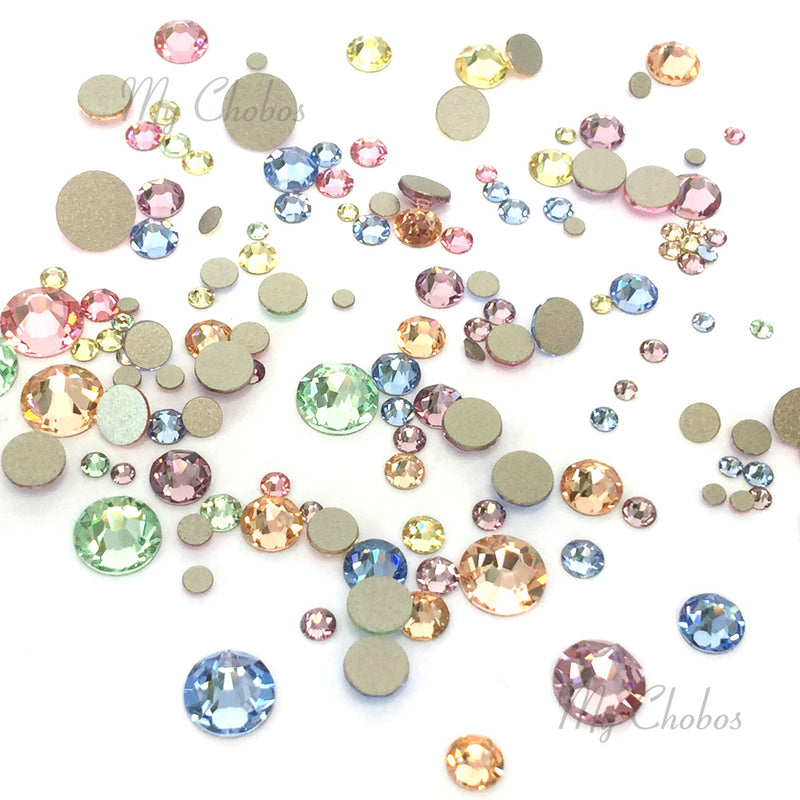 2058 & 2088 Swarovski Flatback No Hotfix Mix Sizes, Baby Mix