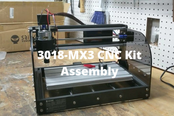 Genmitsu CNC Router 3018-MX3 Assembly Video Instructions