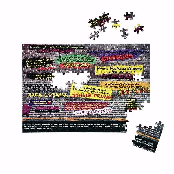Disturbing the Peace Jigsaw Puzzle by Guerrilla Girls