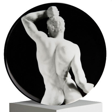 Plate (Wrestler) by Robert Mapplethorpe