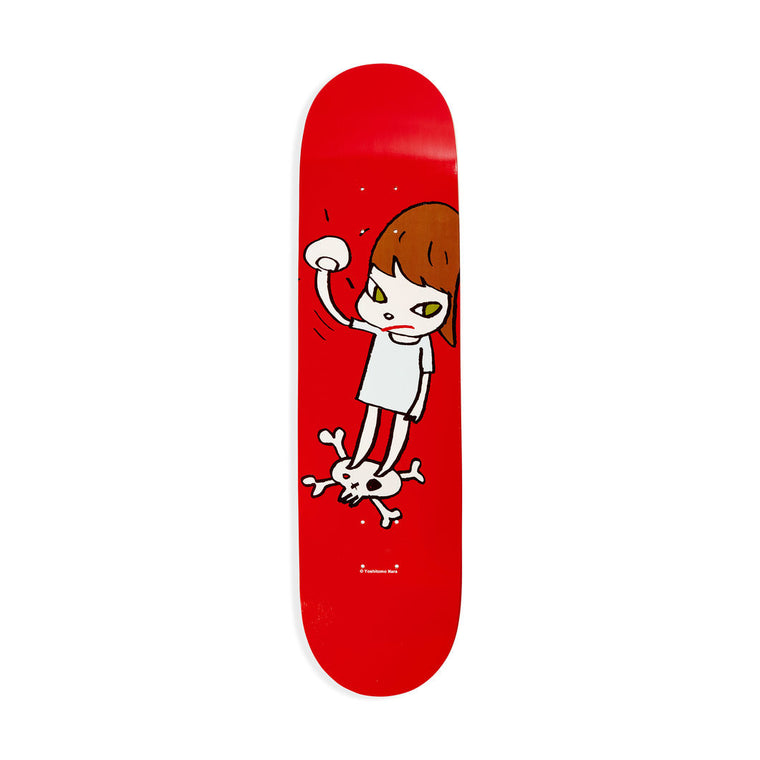 Solid Fist Skateboard by Yoshitomo Nara