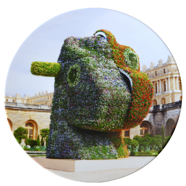 Split Rocker Plate by Jeff Koons