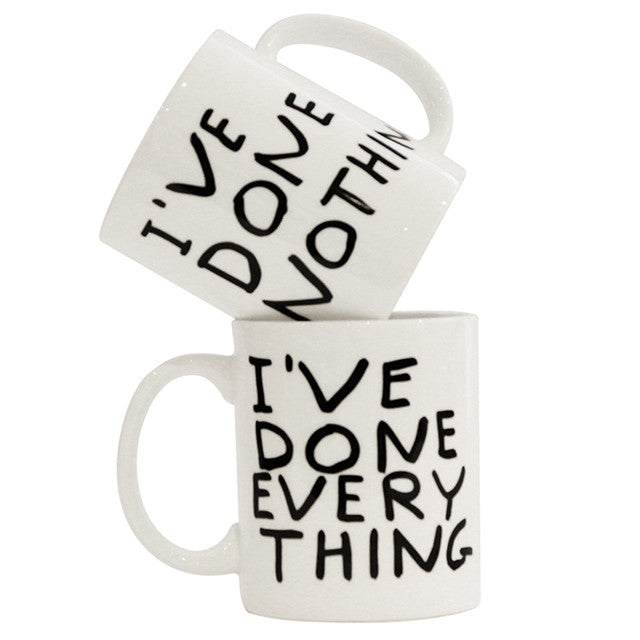 Mug (Everything) by David Shrigley