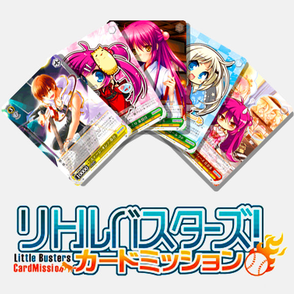 Little Busters! Card Mission EB Japanese