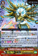 V-SS01/011EN Golden Dragon, Spear-X Dragon (Hot Stamped) (Foil)