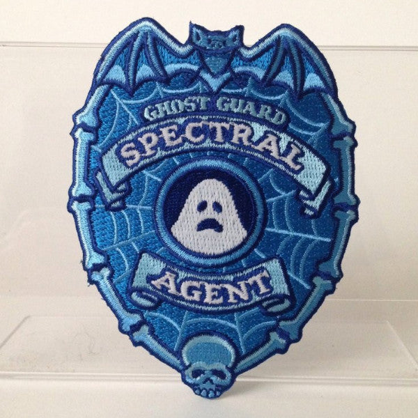 Ghost Guard Patch Spectral Agent Bat Skull glow-in-the-dark