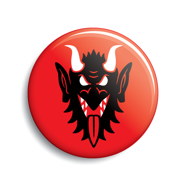 Krampus Face button