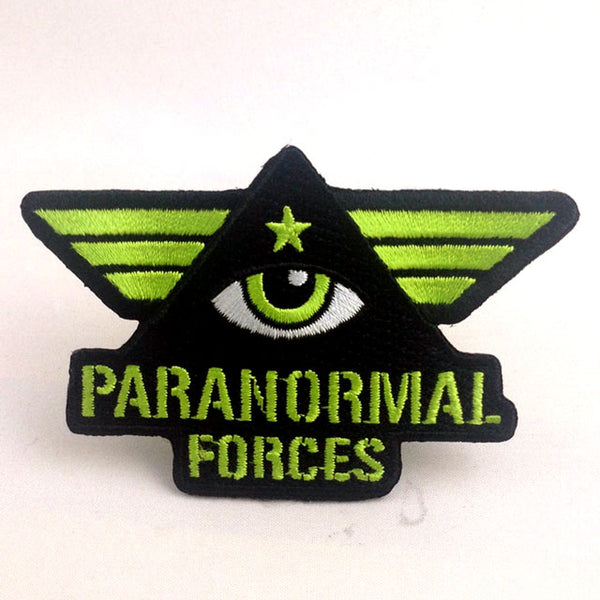 Paranormal Forces embroidered patch