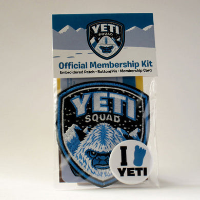 Yeti Squad Membership Kit Park Ranger Patch