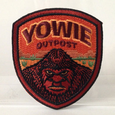 Yowie Outpost embroidered patch
