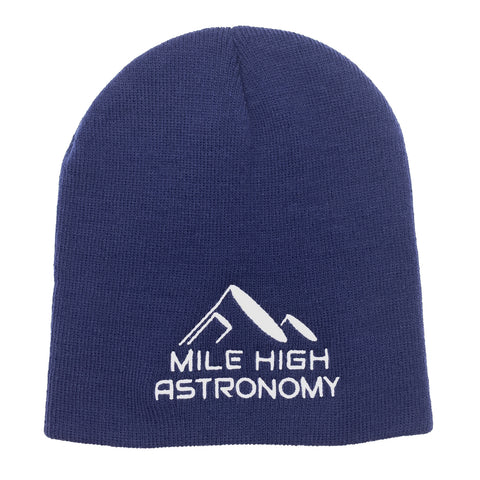 Mile High Astronomy Beanie Hat (Blue)