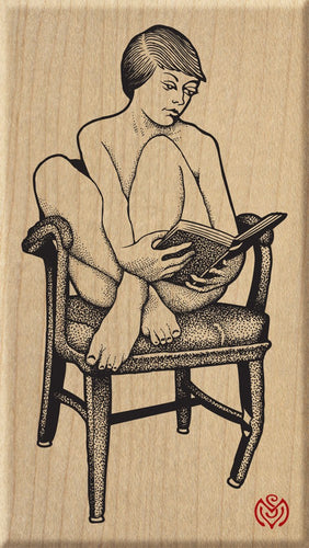 Nude Reading Poetry