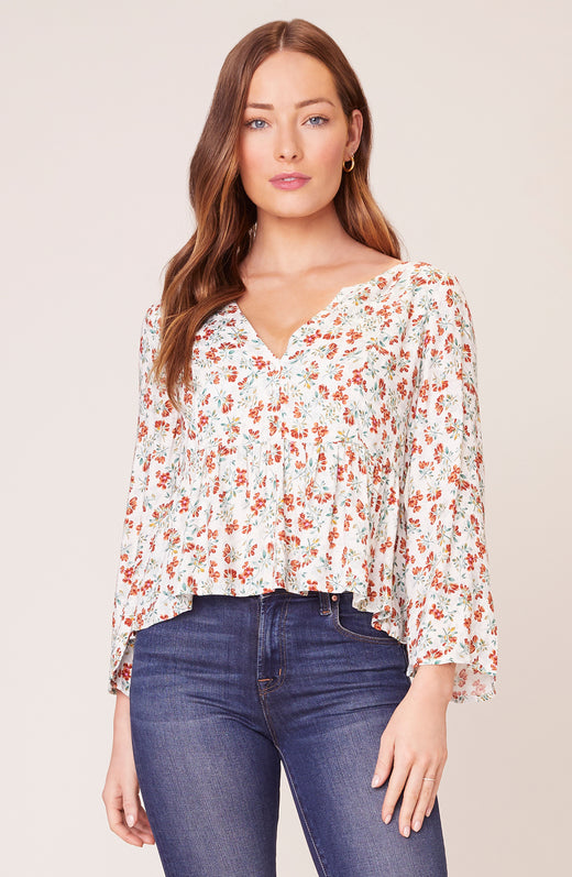 Sugar and Spice Peplum Top