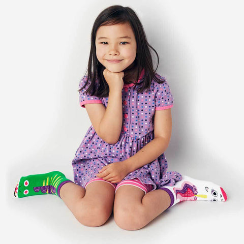 Pals Socks - Dragon & Unicorn - Kids collectible mismatched socks