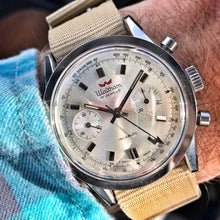 SHARP~1960s WALTHAM CARRERA LANDERON CHRONO~SERVICED