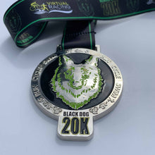 Virtual Challenge Medal Blackdog