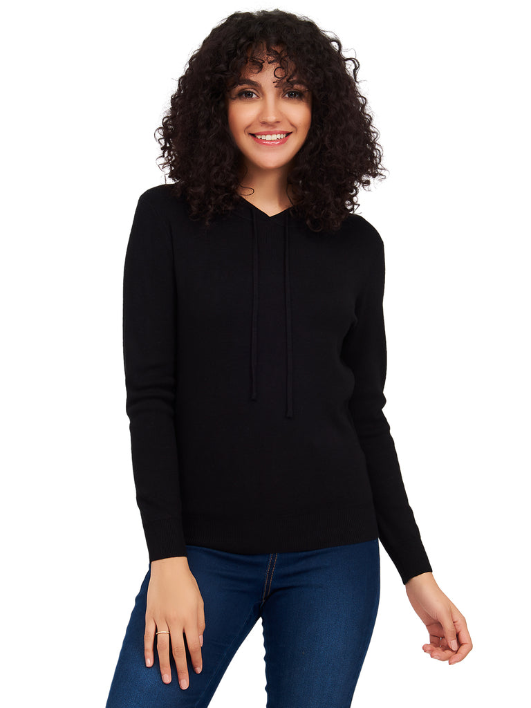 Long Sleeve Hoodie by Suzy Shier