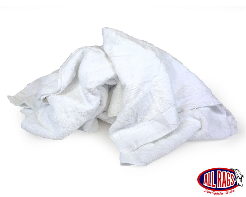 New White Terry Cloth Towels - Overruns