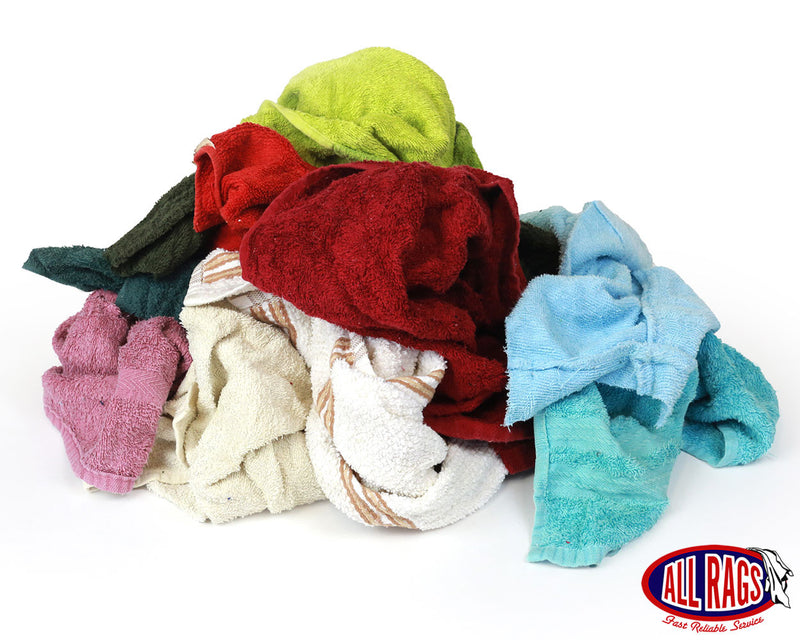 Recycled Colored Terry Cloth Mix