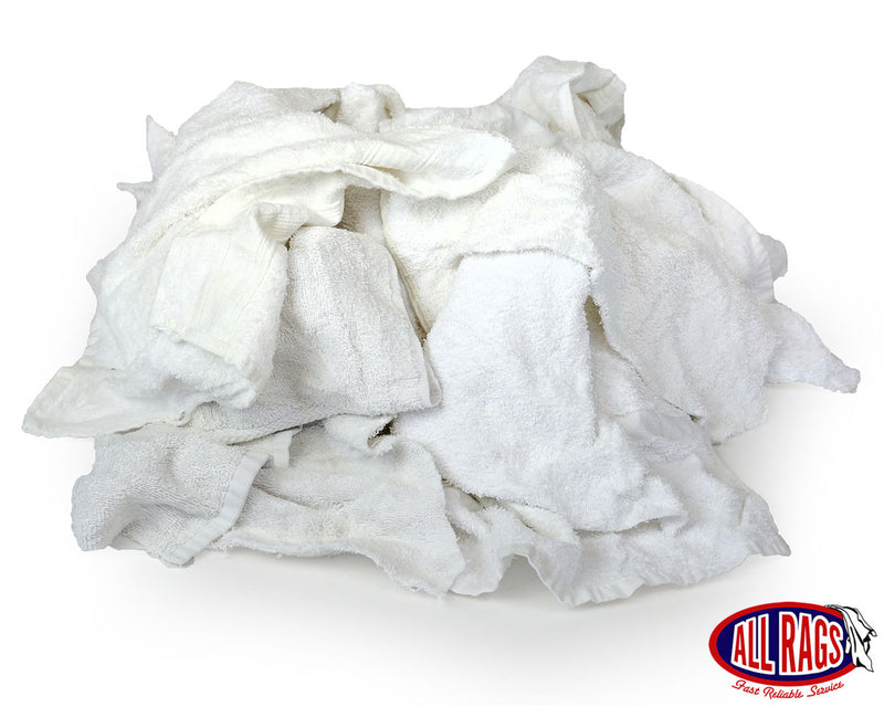Recycled White Terry Cloth Mix