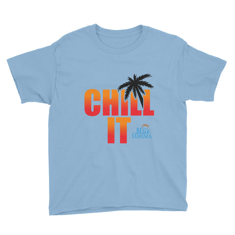 "Boy's Short Sleeve T-Shirt ""Chill It"""