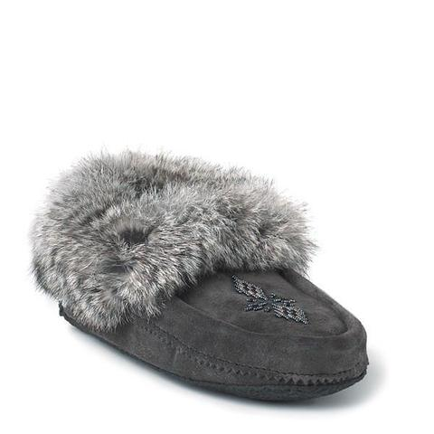 Traveller Moccasin - Charcoal