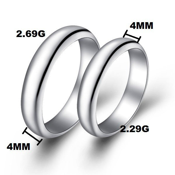 wedding ring silver