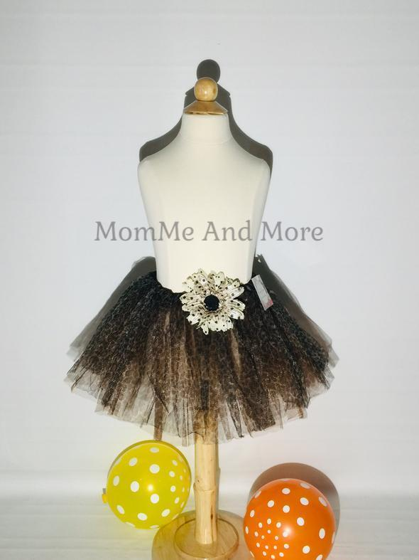 50% Off Girl's Cheetah Ballet Tutu Princess Full Tulle Skirt Tutu MomMe and More