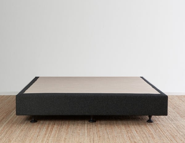 Luca's Bed Base - Charcoal