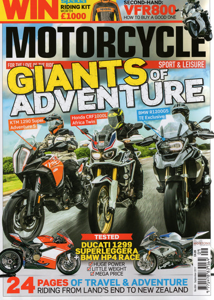 MSL201709 Motorcycle Sport & Leisure September 2017