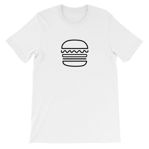 Burger: White Men's T-Shirt